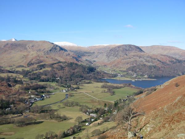 Patterdale and the head of Ullswater