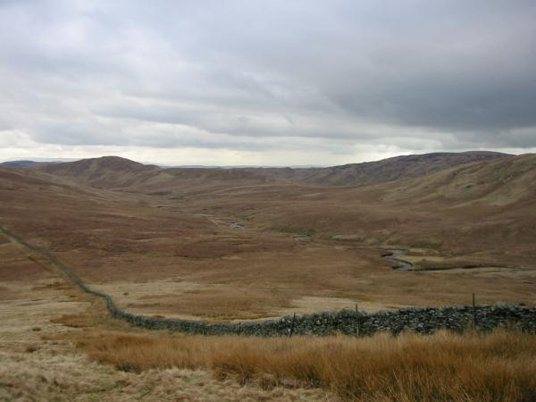 Crookdale from the climb up Little Yarlside