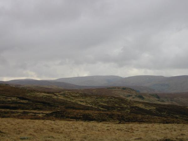 Harter Fell, Mardale (centre skyline) from Wasdale Pike