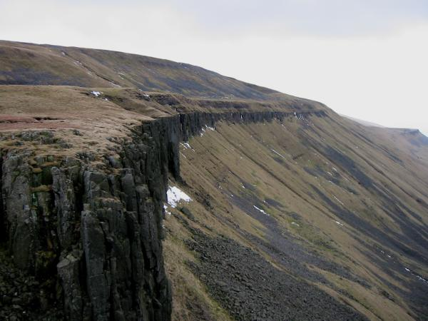 The south side of High Cup