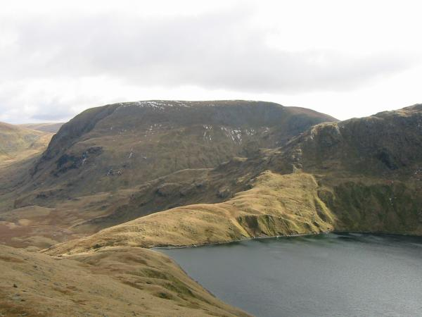 Looking over Blea Water to Harter Fell