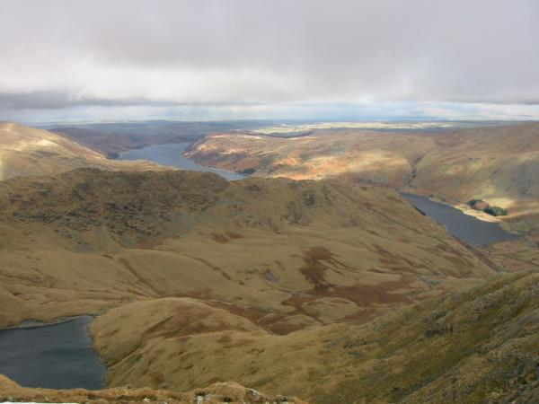 Blea Water, Rough Crag and Haweswater from Mardale Ill Bell