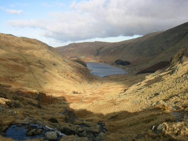 Haweswater from below Small Water