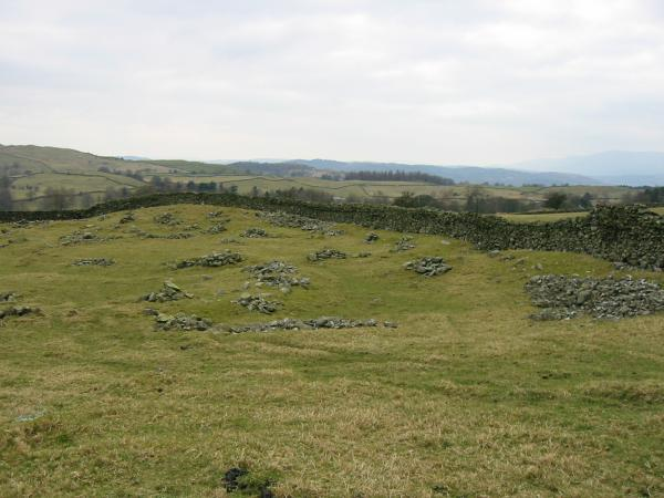 The remains of the British Settlement at Hugill