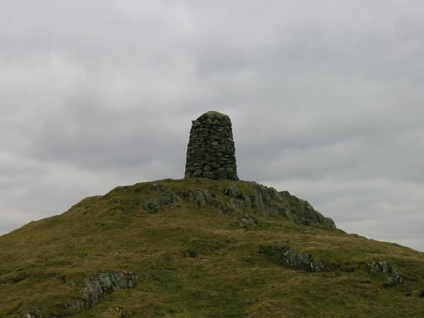 Williamson's Monument on the summit of High Knott