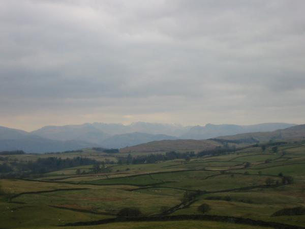 The Langdales from the summit