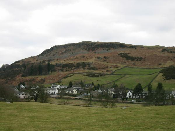 Reston Scar from the A591 Staveley bypass