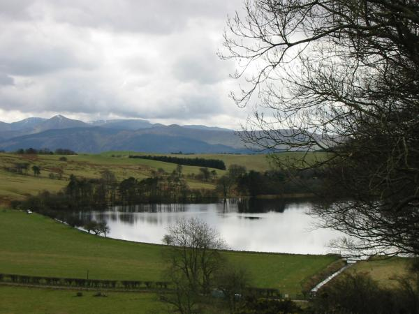 The north western fells from above Over Water