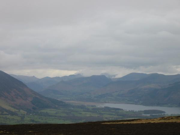 The view south from Binsey's summit