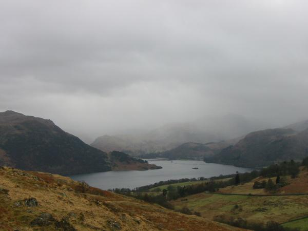 The Head of Ullswater gets some weather