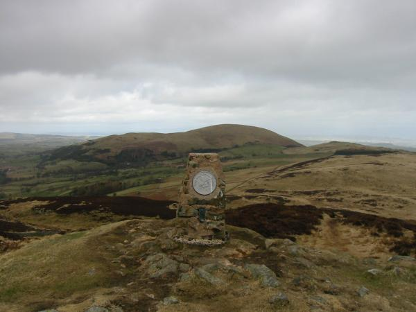 Little Mell Fell from Gowbarrow Fell's summit