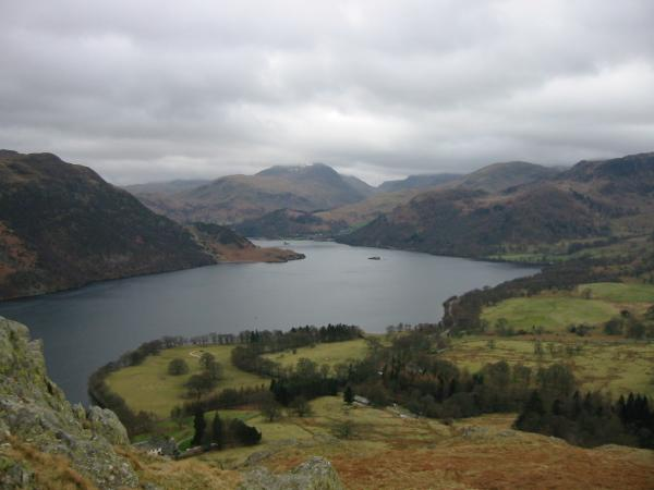 Ullswater from the descent off Green Hill