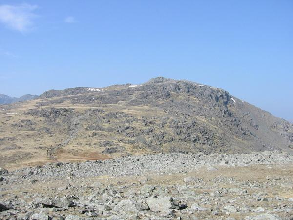 Looking across Ore Gap to Esk Pike