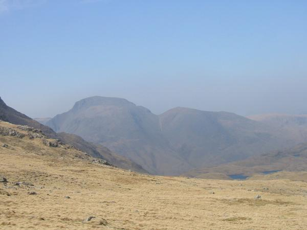 Great Gable and Green Gable from Esk Hause