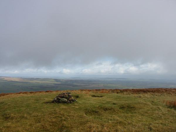 Great Mell Fell's summit