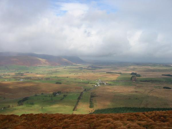 Looking down on Troutbeck