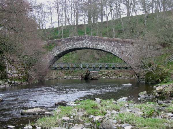 Low Gardens Bridge across the River Lowther