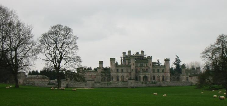 Lowther Castle, now just a shell