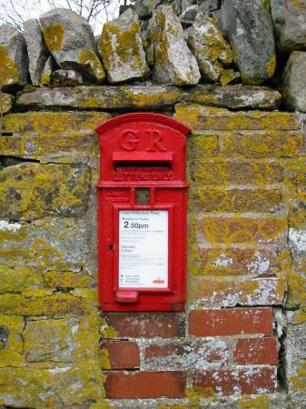 Postbox in Whale