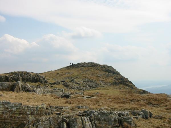 Nearing Sergeant Man's summit