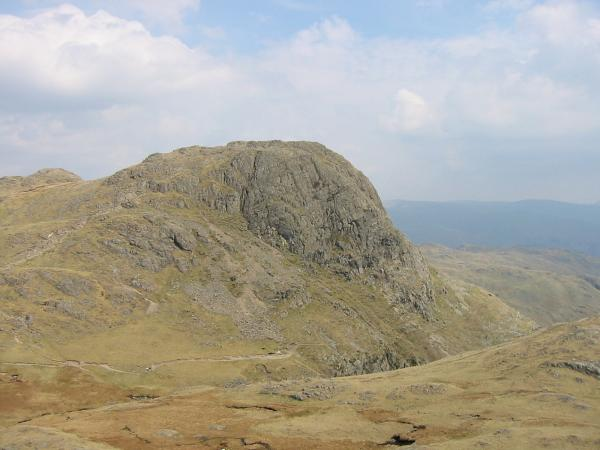 Harrison Stickle from Loft Crag's summit