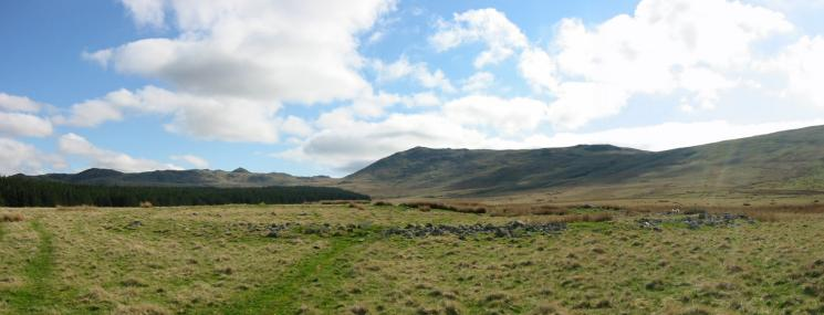 Stainton Pike from the remains of an ancient 'homestead'
