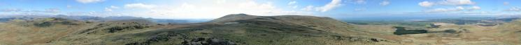 360 Panorama from Stainton Pike's summit