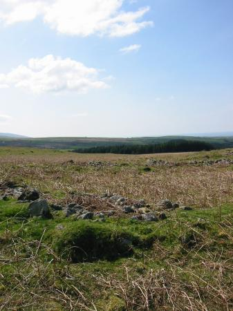 The remains of 'The City of Barnscar', thought to have been a Danish settlement