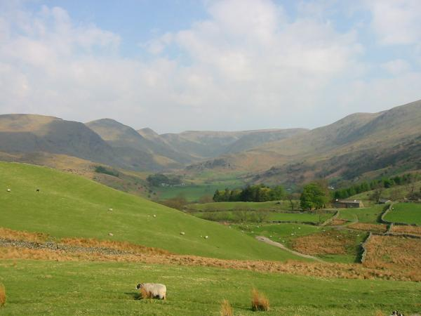 Our walk today, the Kentmere Horseshoe