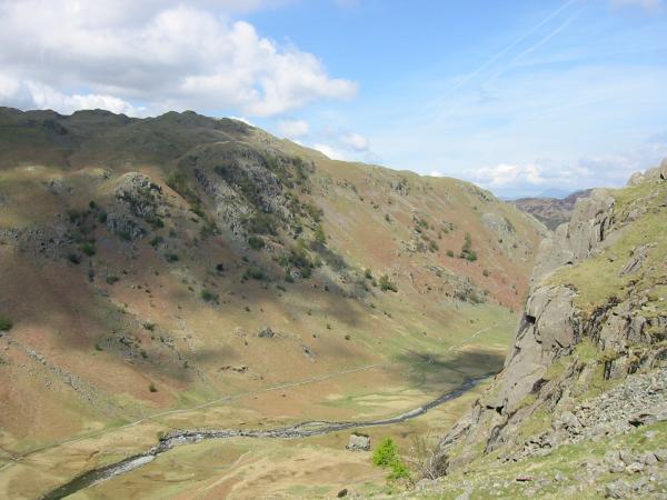 Rosthwaite Fell from the descent