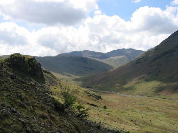 Blea Crag and Langstrath