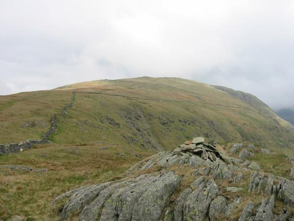 Red Screes from Snarker Pike summit