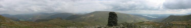 Easterly panorama from High Bakestones