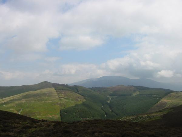 Lord's Seat and Ullister Hill with Skiddaw in the distance