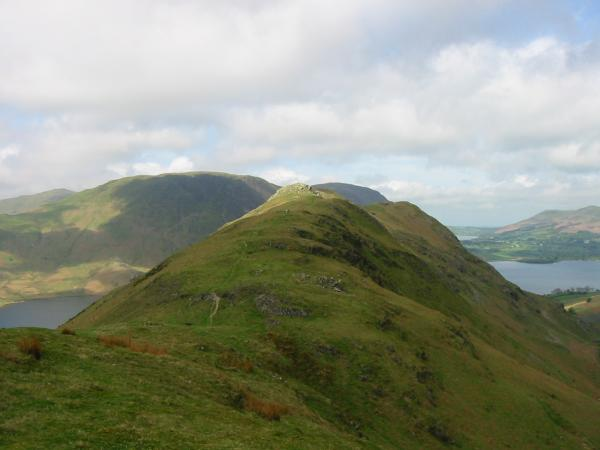 Rannerdale Knotts from Low Bank