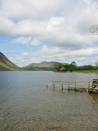 Low Fell from Crummock Water's shore