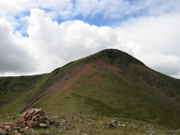 Looking across The Saddle to Red Pike from Dodd's summit