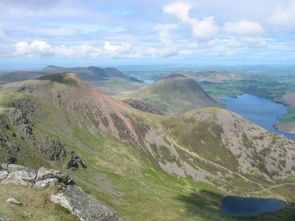 Red Pike, Dodd and Bleaberry Tarn