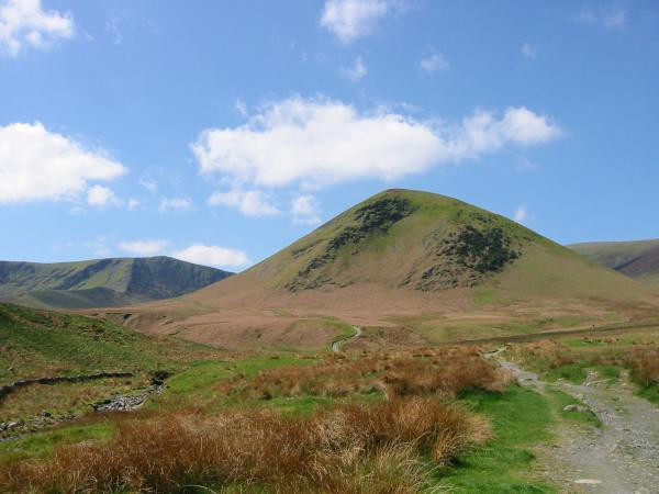 The Tongue with Bannerdale Crags to the left