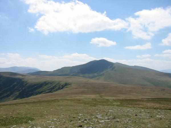 Blencathra from Bowscale Fell's summit