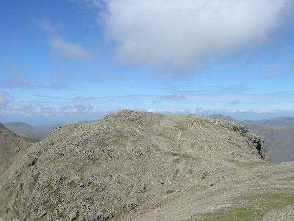 ...and Broad Crag from Ill Crag's summit