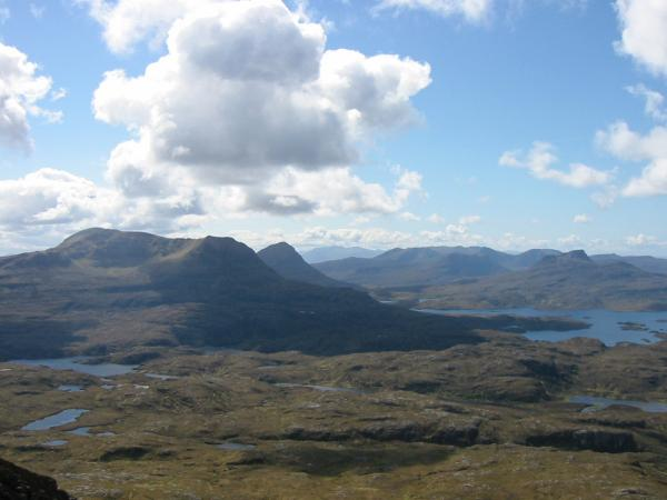 ...and this is the view south that awaits you on reaching the top