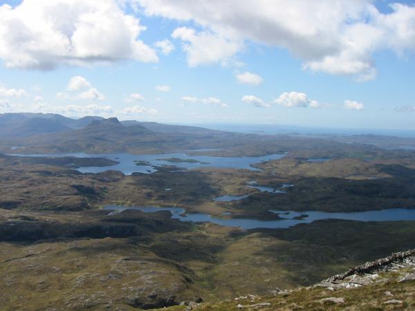 Stac Pollaidh and Loch Sionascaig