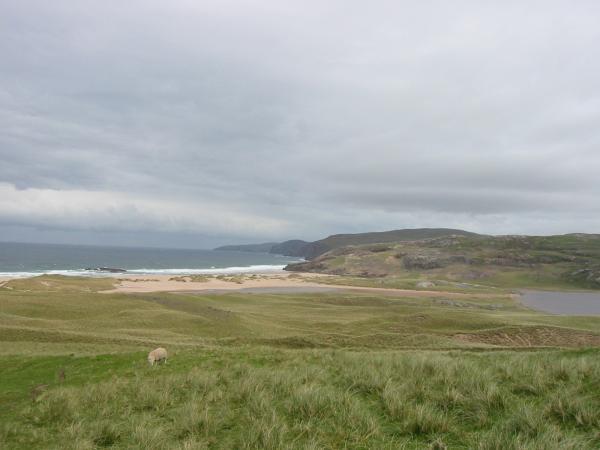 Sandwood Bay and Sandwood Loch
