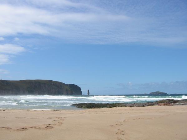 Am Buachaille ('The Herdsman'), Sandwood Bay, Sutherland