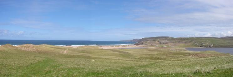 Sandwood Bay and Sandwood Loch as we return southwards