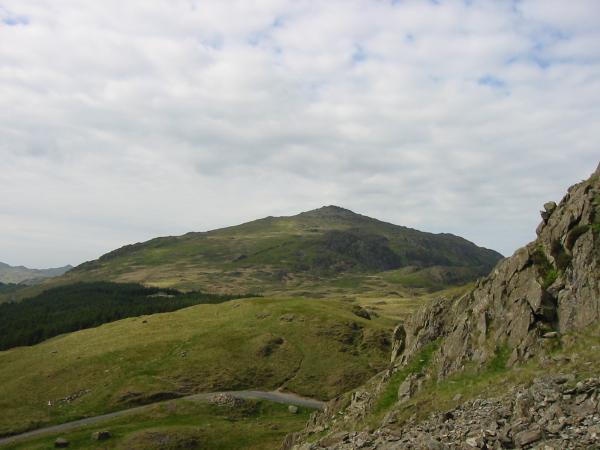 Harter Fell from just above Hard Knott Pass