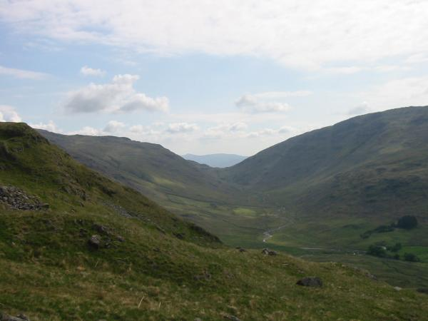 Wrynose Bottom and Wrynose Pass