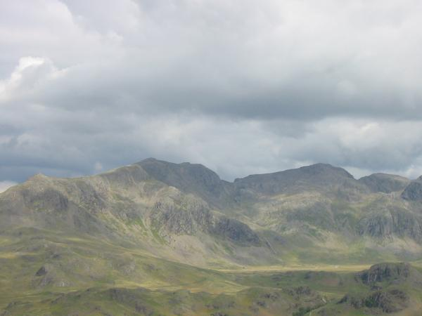 Slight Side, Scafell, Scafell Pike and Broad Crag
