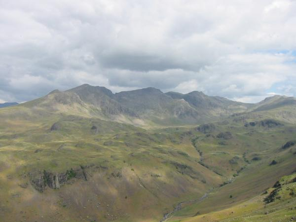 The Scafells and Upper Eskdale